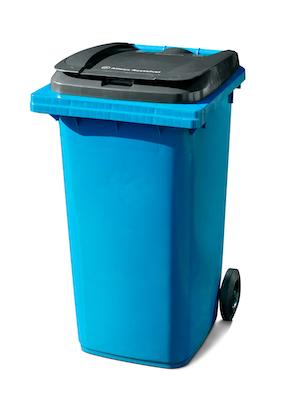 Bedrijfsafval 240 liter (kunststof) rolcontainer